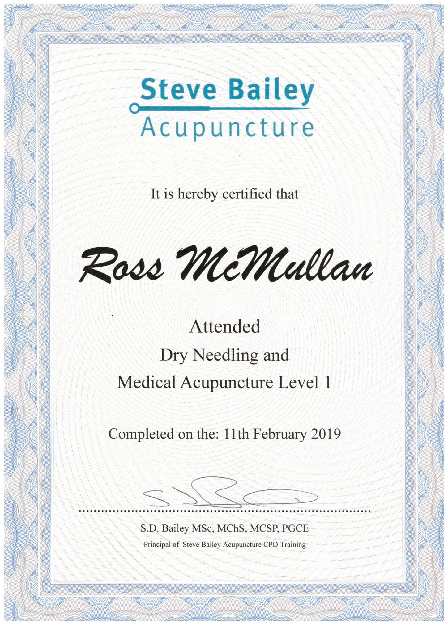 Dry Needling & Medical Acupuncture Level 1